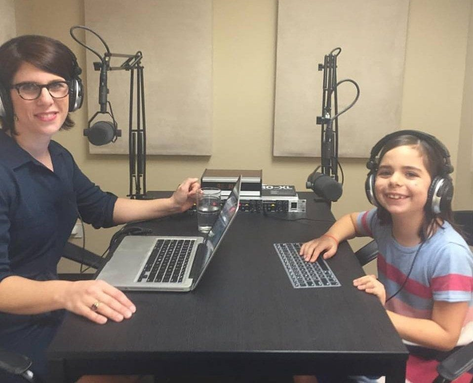 mother daughter podcast interview